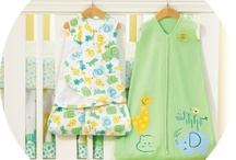 Baby's Nursery / Cute and safe items for your baby's room.  Remember, decorate the room, not the crib!