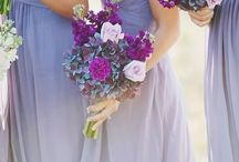 L A V E N D E R ♡ L O V E / Lovely lavender, Lilac hues & Beautiful Berry coloured blooms. Here's how to work all purple shades into your wedding day