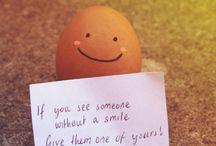"""Smile! ❤️ / """"Con una sonrisa se ilumina el rostro y se alegra el corazón"""" AR. ❤️ *_* ^_^ '_'"""