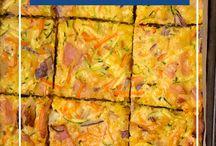 Savoury slices