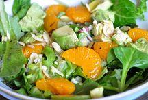 Salads~Dressings~Salads / by Esther Sullivan