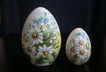 uova di pinte a mano