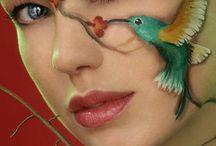 Art: Painted Faces / by Vidda Chan