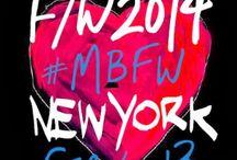 New York Fall Winter 2014 / by Stephanie Peña DC