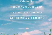 Hello,FOLKS!-9- / Hello,FOLKS!-9- Thursday , June 23rd @ Komatsuya Parking