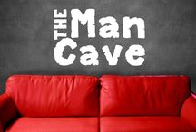 The Man Cave / tv's, entertainment, funny sayings, sports, furniture,