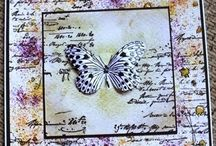 Stampendous butterfly