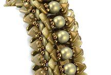Beadwork - Triangle beads