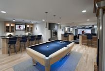 Home: Basement/mancave / by Nan Edwards