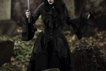 Goth/black souls / Goth, black, dark, fashion, night