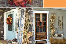 fall decorating / by Nicole Bacon