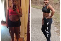 Before & after weight lost