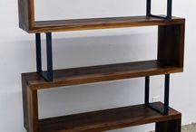 Kirjahylly / Ideoita uuden kirjahyllyn toteutukseen. Saa vapaasti lisäillä ja poistaa, jos tuntuu että joku ei toimi.