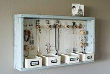 Jewellery Organiser Ideas
