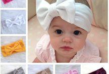 turbante de tela para bebé