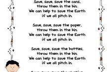 reduce reuse recycle preschool lesson ideas