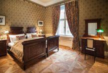 Apartamenty pałacowe / Stylowe wnętrza art - deco, biedermeier oraz recesja.