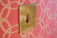Horizon Lightswitch Plates / Horizon range of contemporary electrical flat switch plates manufactured by Focus SB.