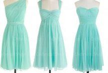 bridesmaid color palette