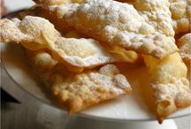 Carnevale's Patisserie / Carnival in Italy means Fried sweets! Whether using yeast or baking powder, lard or butter, simple or filled with cream or custard, this board will make you gain weight just by reading it!! Go and spread Joy (and calories!)... Happy Pinning