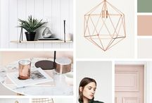 MOODBOARDS: Colours and Design