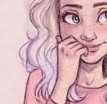 cute draw girls