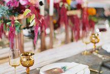 Burgundy & Copper Wedding Inspiration