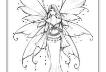 Colouring pages - free from artist