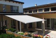 Markilux Pergola / Markilux UK Pergola Retractable Terrace Covers, used for both residential areas and commercial for shade out in summer heat.
