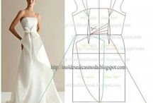 Patterns wedding dress