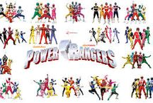 Power rangers / Five ultimate super heroes combain their powers against the forces of evil