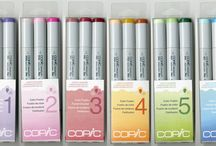 Copic Markers / by Barbara Levitz