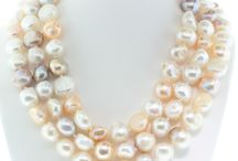 Pearl Necklaces / A touch of pearls adds a classic touch to an outfit. Browse the pearl necklaces from Jewels By Jacob.