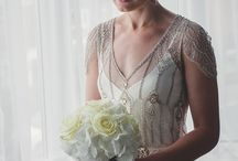 ACHTUNG, TREVOR!! Wedding Dress! / Gowns and accessories and all that jazz. / by Julia Lacovara