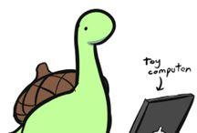 Sheldon; the tiny dinosaur that thinks he's a turtle