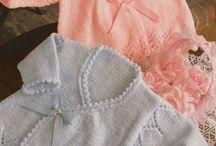 Bebek kazak yapimi  Hırkası