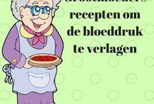Recepten verlagen bloeddruk