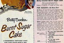 Vintage Recipes and Cookbooks