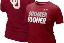 Oklahoma Sooners Gear / Savor the adrenaline of gameday with officially licensed Oklahoma Sooners apparel and merchandise from the ultimate sports store! Sport your enthusiasm for University of Oklahoma athletics with licensed Oklahoma Sooners jerseys, T-Shirts, hats and sweatshirts from Football Fanatics. Get your Oklahoma clothing and gear from the Ultimate Sports Store and take advantage of our low $4.99 3-day shipping on your entire order! Boomer Sooner! / by Fanatics ®