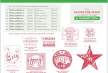 Stampin' Up! Promotions / Find out what's new at Stampin' Up! Australia.  Order online: kellykent.stampinup.net.