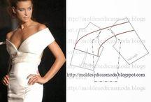 Model z wykrojami