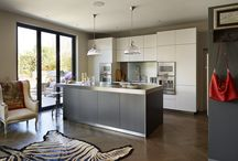 Kitchen Architecture bulthaup case study : Eclectic elegance / bulthaup by Kitchen architecture case study - Eclectic elegance - bulthaup b3 furniture in aluminium grey and smoked oak with stainless steel work surfaces.