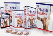 V-Taper Solution / V-Taper Solution is a weight loss and fitness program for men created by Brad Pilon.