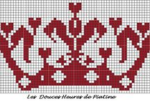 Cross stitch Red