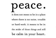 peace.  / by taylor demaro