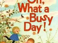 Gyo Fujikawa - Oh what a busy day!