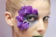 hula flower make up