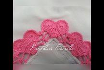Orilla mantel crochet