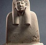 Bustes d'ancêtres de Deir el-Médineh