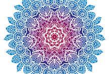 mandala_ornament_T-ART.CZ / motiv mandala ornament, potisk, originální motiv na tričko,T-ART.CZ,